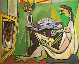 """Photo: Pablo Picasso, """"Donna che legge"""" (1935"""""""