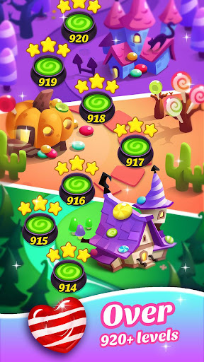 Gummy Candy Blast - Free Match 3 Puzzle Game screenshot 3