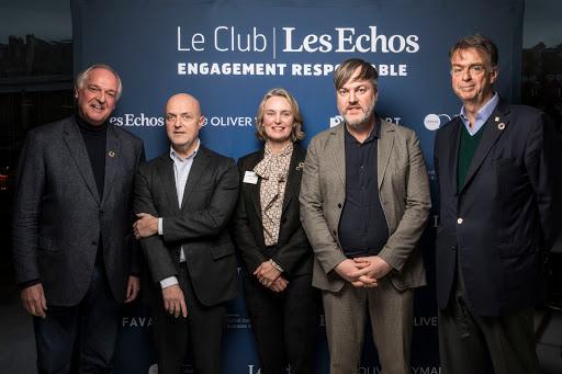 Club Les Echos Engagement Responsable avec Paul Polman - Favart