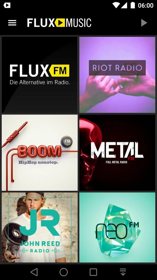FluxMusic | Next Level Radio – Screenshot