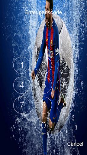 New Lock screen for Leo Messi 2018 2.0.0 screenshots 4