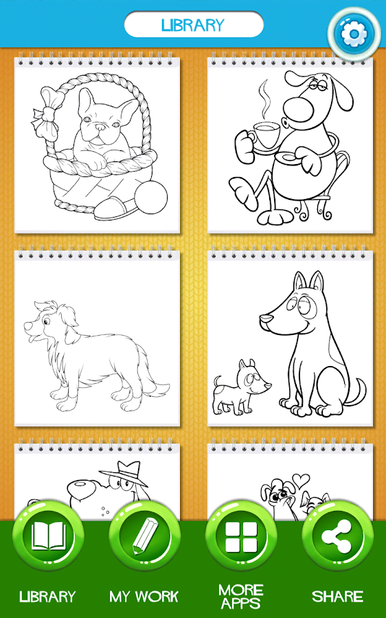 Dog Coloring Book - Android Apps on Google Play