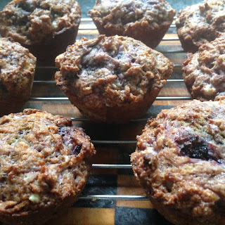 Banana Mulberry Muffins (egg And Dairy Allergy Friendly!)
