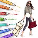 SketchBook - Pencil Sketch, Girl Sketching & Draw icon