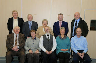 Photo: INIB committee with Michael Palmer