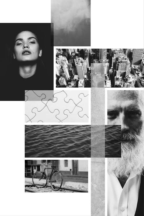 Urban Collage - Pinterest Pin Template