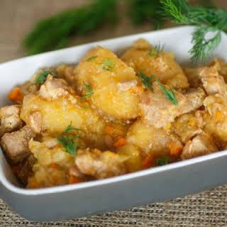 Rosemary Chicken And Potato Stew.