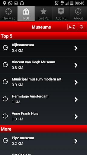 玩旅遊App|アムステルダム、ザ・マップ、無料  The Map free免費|APP試玩