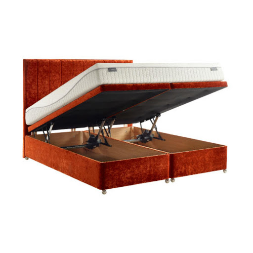 Dunlopillo Electric Ottoman Divan Base Shown