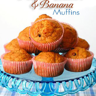 Peanut Butter and Banana Muffins.