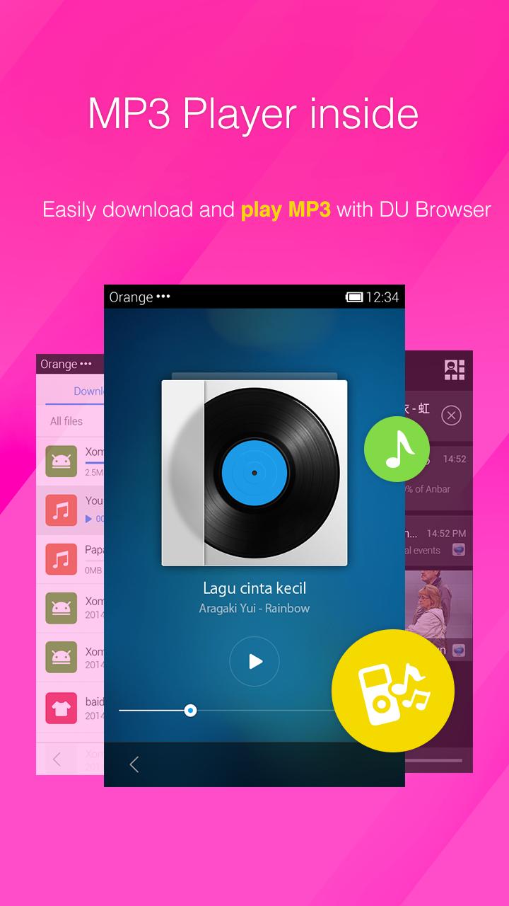 DU Browser—Browse fast & fun screenshot #7