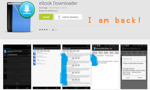 eBook Downloader - náhled
