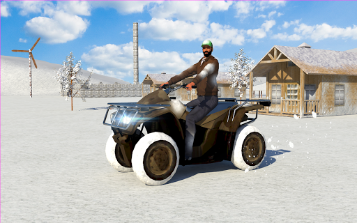 Snow Bike 3D Parking