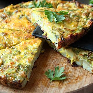 Crustless Asparagus Quiche Recipe