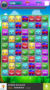 Download Naughty Monster Match 3 For PC Windows and Mac apk screenshot 3