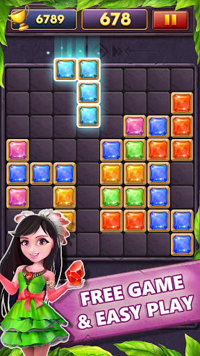 Block Puzzle Gems Classic 1010 apkmind screenshots 1