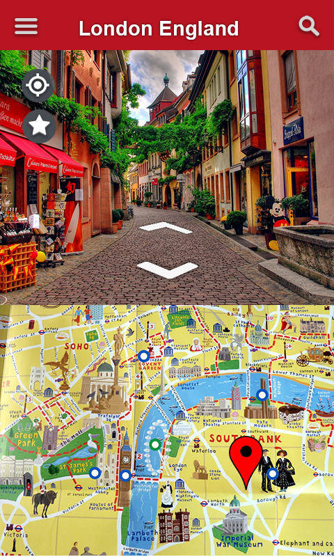 Live Street View And Map GPS Earth Satellite HD Android Apps - Satellite street view