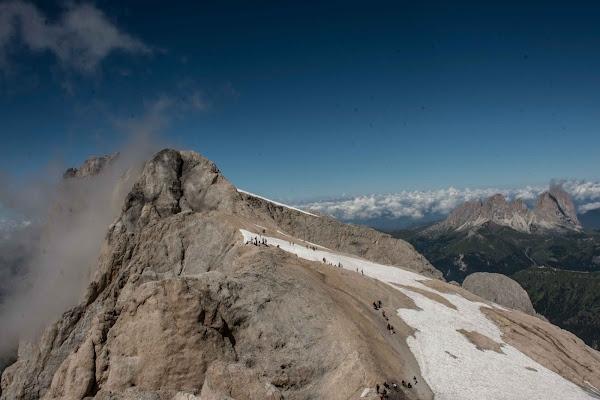 Passeggiata sul ghiacciaio di Maria Luisa