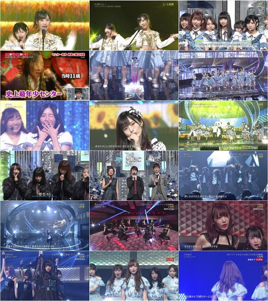 (TV-Music)(1080i) AKB48 46G Part – THE MUSIC DAY 2018 180707