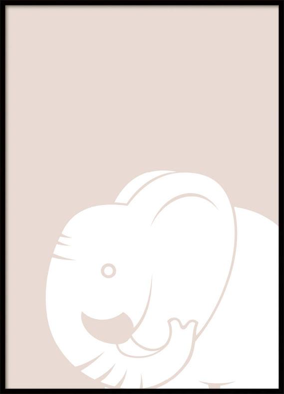 Elefant Barnposter