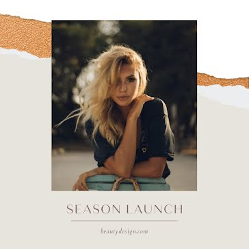 Beauty Design Season Launch - Instagram Post Template