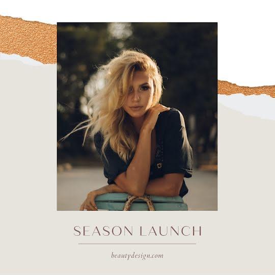 Beauty Design Season Launch - Instagram Post Template