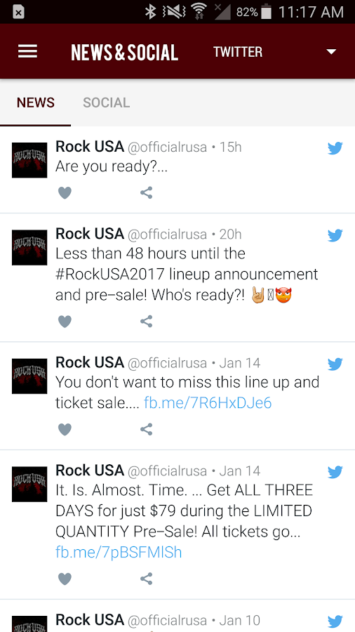 Rock USA Music Festival- screenshot