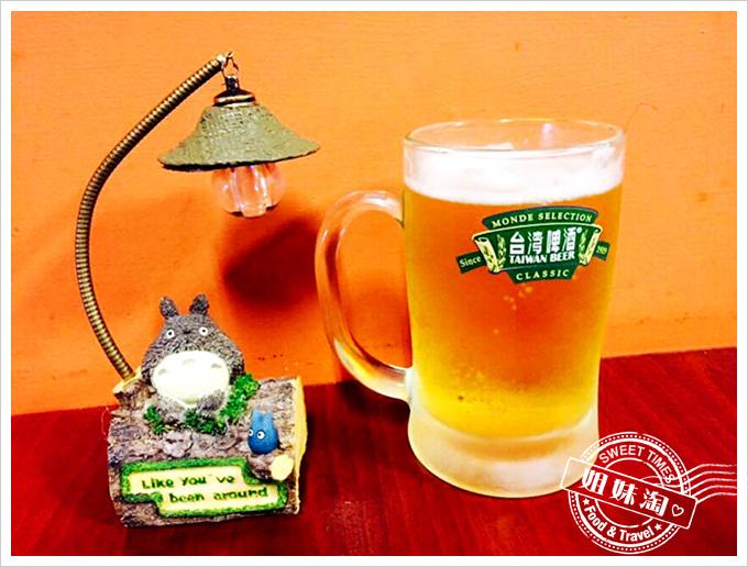 屏東恆春深夜小食堂生啤酒