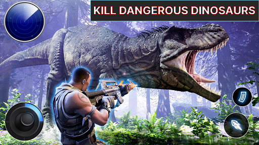 Dino Hunter - Wild Jurassic Hunting Expedition apktram screenshots 5