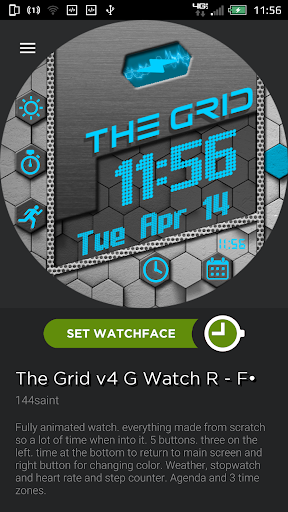 The Grid Watchface V.2