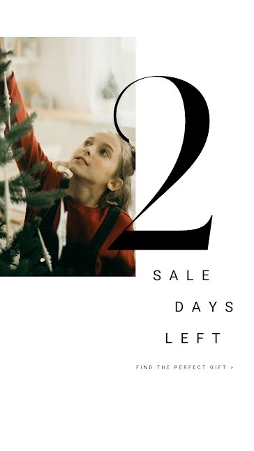 2 Sales Days Left - Facebook Story Template