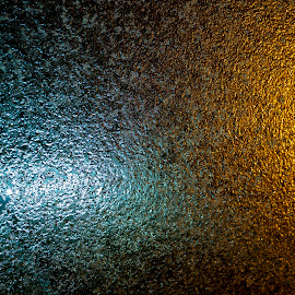 Fire and ice by Ciddi Biri - Abstract Patterns ( sparkle, color, bright, pattern, yellow, winter, gold, modern, street, design, decoration, glass, grunge, wallpaper, backdrop, street lights, texture, night, black, fire and ice, frozen, abstract, brown, cold and hot, light, snow, background, shiny, glitter, colorful )