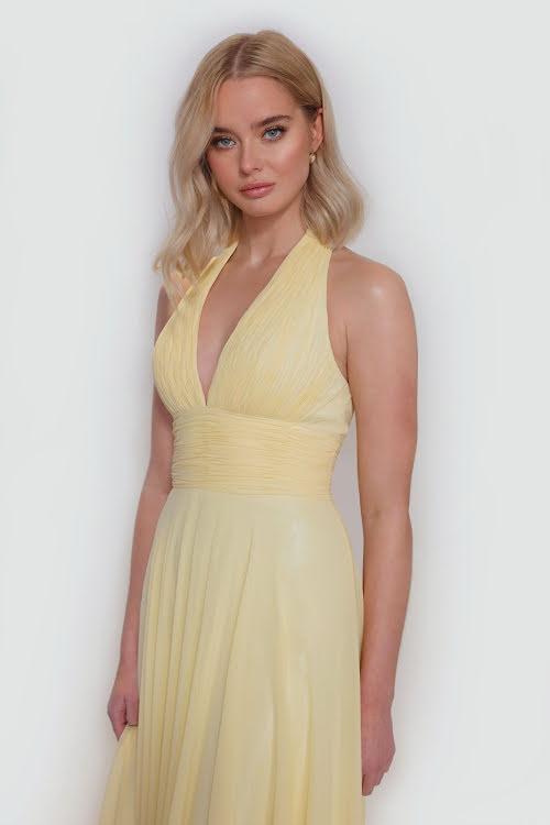 Luna Halter Neck Dress