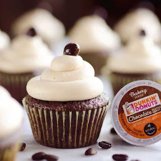 Mocha Sour Cream Cupcakes
