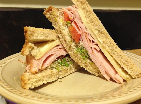 I served my soup with a turkey sandwich on Organic Multi Grain Bread with...