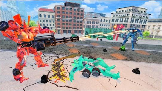 Robot Games : Ultimate Robot Car Transform Games 4