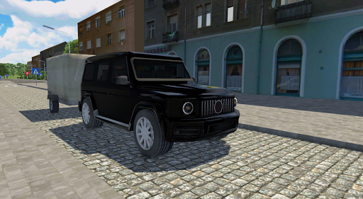 Télécharger Gratuit Car Driving Sim : Trailer Transport APK MOD (Astuce) screenshots 3