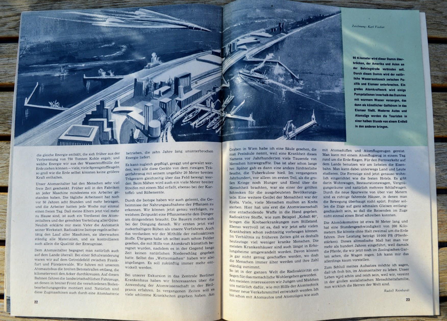 DDR-Jugendzeitschrift Die Schulpost - 1957