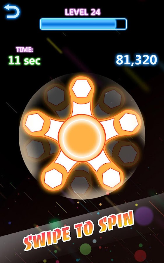 Fidget Spinner Fun 2018:  Fidget Spinner Pro- screenshot