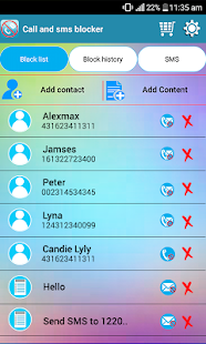 SMS blocker, call blocker- screenshot thumbnail