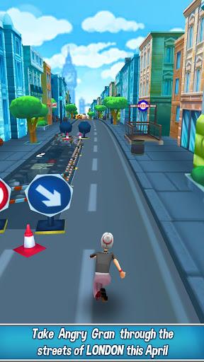 Angry Gran Run - Running Game APK MOD screenshots hack proof 2