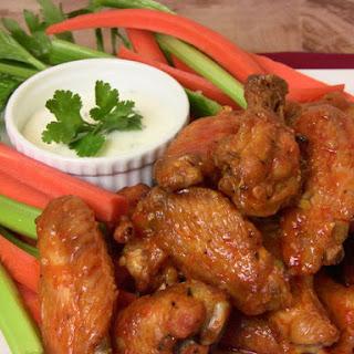 Roasted Garlic & Habanero Hot Wings Recipe