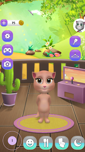 My Talking Cat Inna androidiapk screenshots 1
