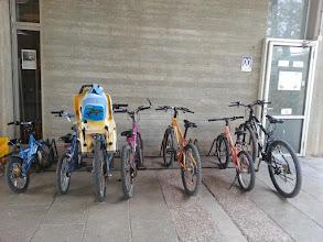 Photo: התחילו הלימודים ואין מקום חניה לאופניים... צילמה אדית קולמן