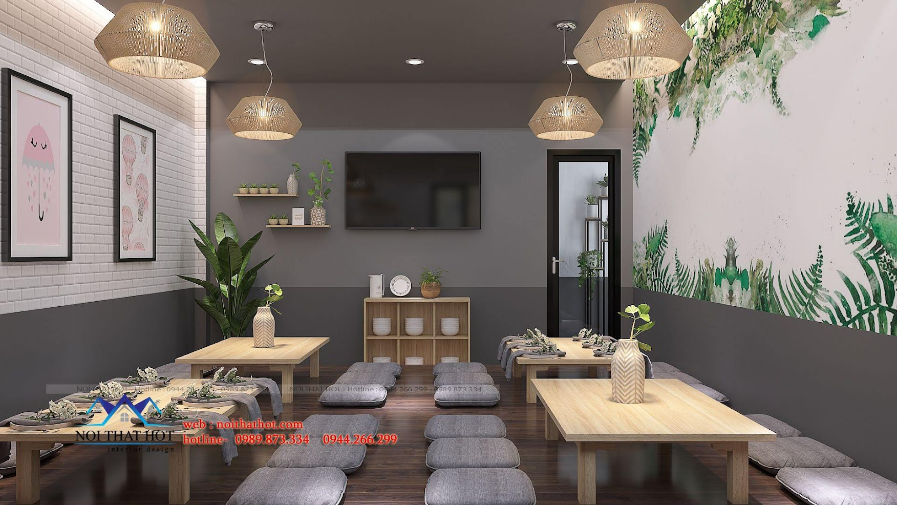 thiết kế nhà hàng trường giang 21