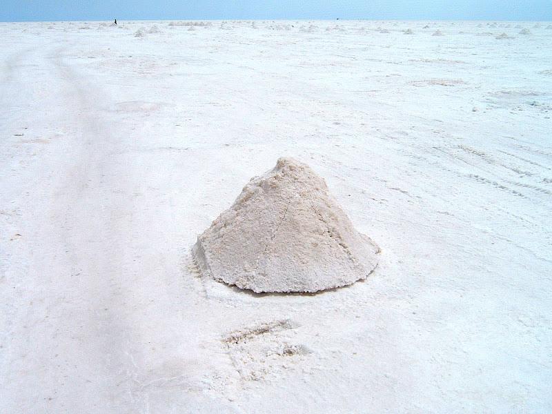 Un mucchio di sale. di lana
