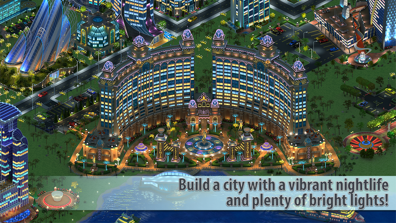 Screenshots of Megapolis for iPhone