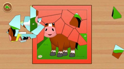 Jigsaw Animal Puzzle Farm