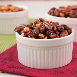 Spicy Spiced Nuts