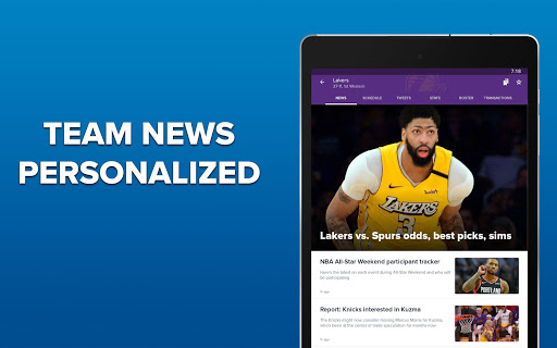 CBS Sports App - Scores, News, Stats & Watch Live 9.75 Screenshots 15